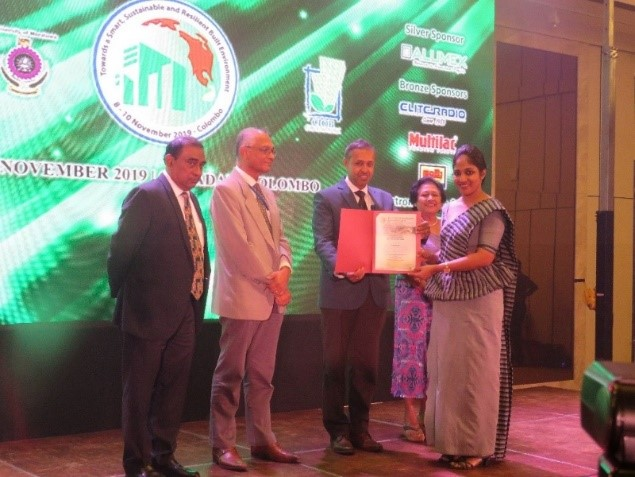 Staff of Department of Building Economics wins 3 Awards at 8th World Construction Symposium 2019