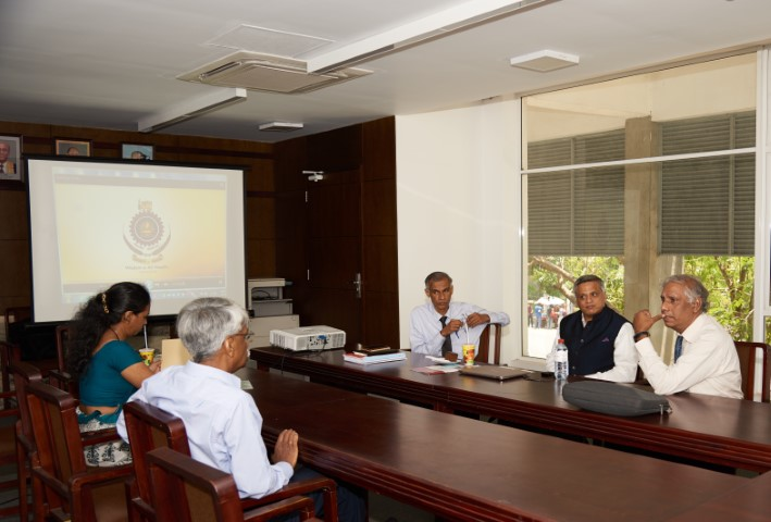 Visit of  Professor Mahesh Panchagnula, Indian Institute of Technology Madras