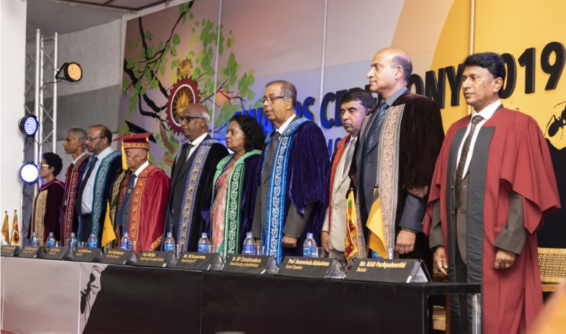 ANNUAL AWARDS CEREMONY OF THE UNIVERSITY OF MORATUWA 2019