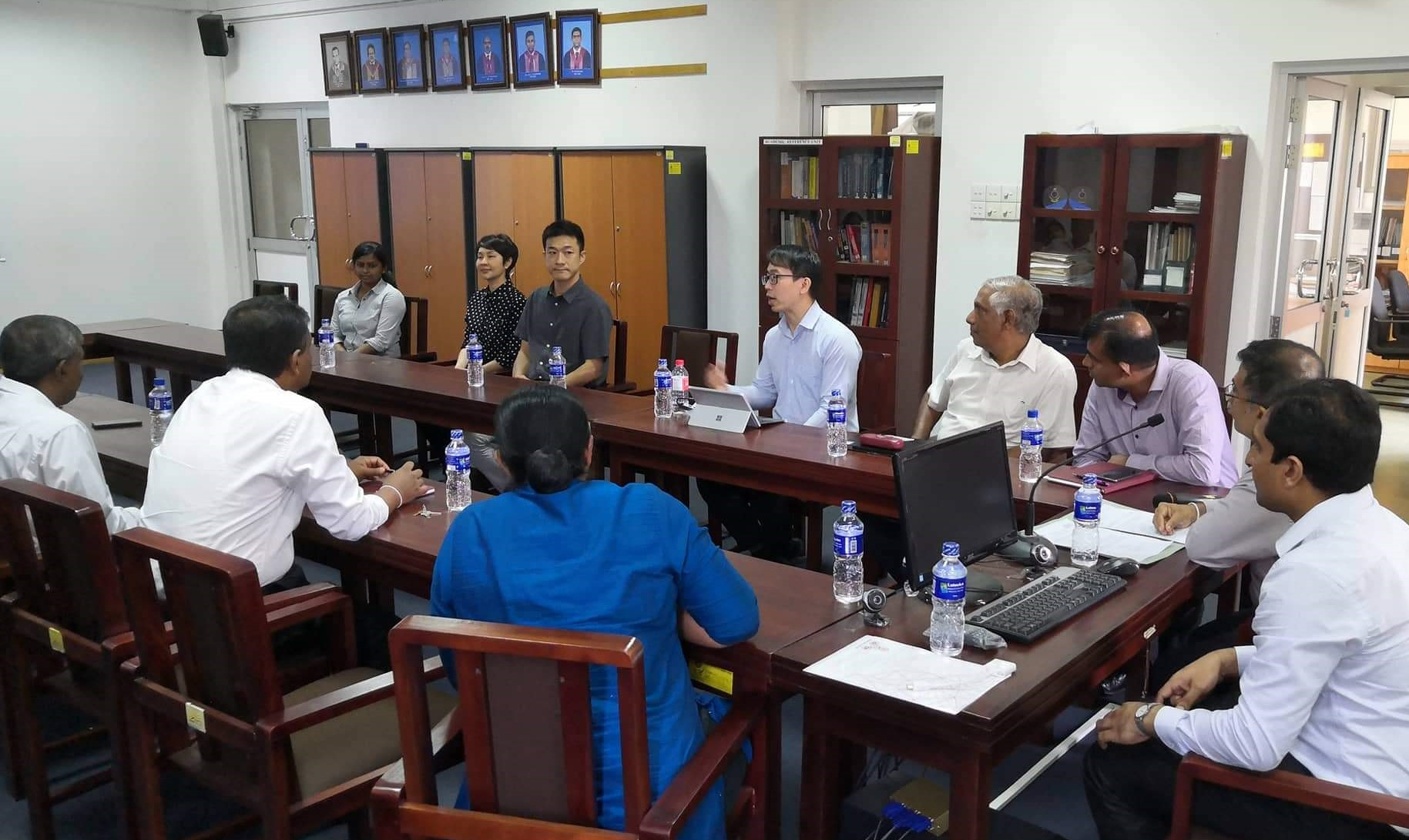 VISIT OF DELEGATION FROM SIRINDHORN INTERNATIONAL INSTITUTE OF TECHNOLOGY (SIIT), THAMMASAT UNIVERSITY, THAILAND