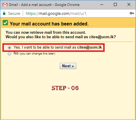 Synchronize UOM Mail to Gmail/Outlook/Thunderbird