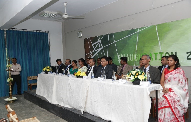 The Inauguration of the new intake 2018, for Faculty of Architecture, University of Moratuwa was held on 11th December 2018.