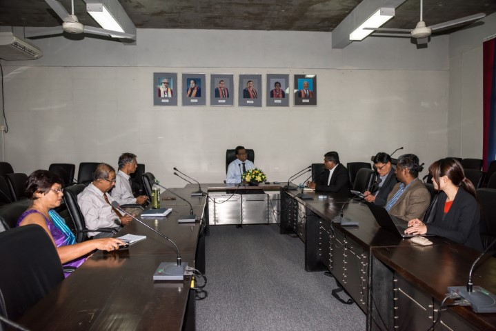 Meeting between Deakin University and the University of Moratuwa