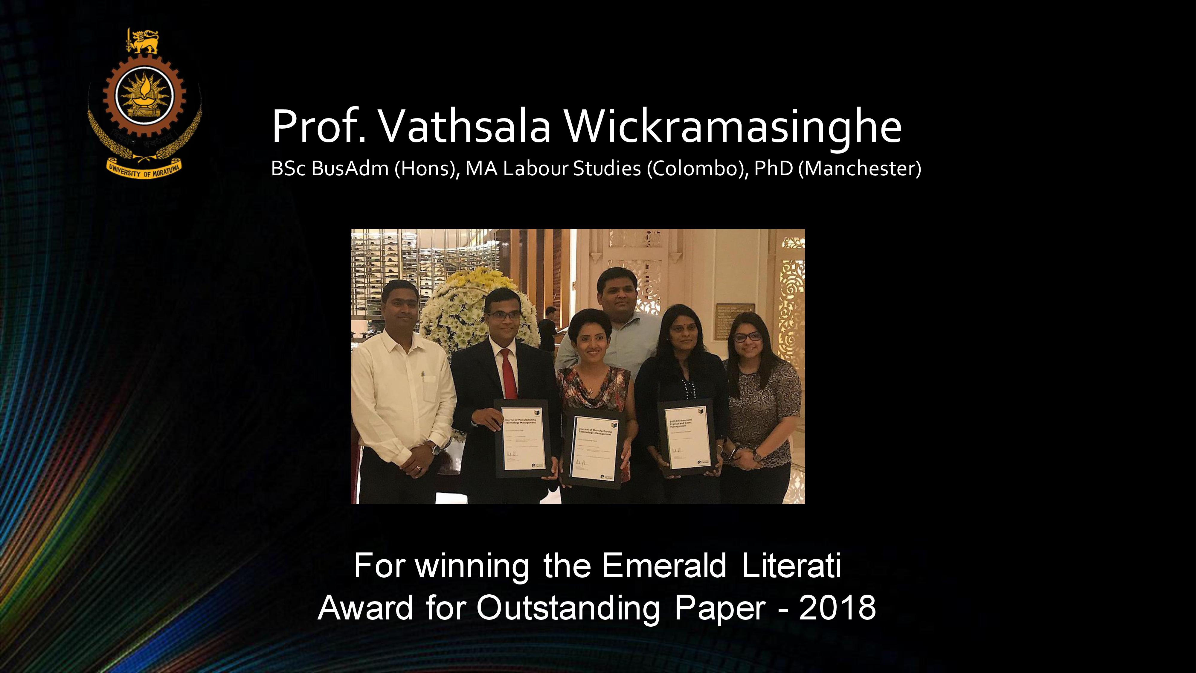 Winner of the Emerald Literati Award for Outstanding Paper 2018