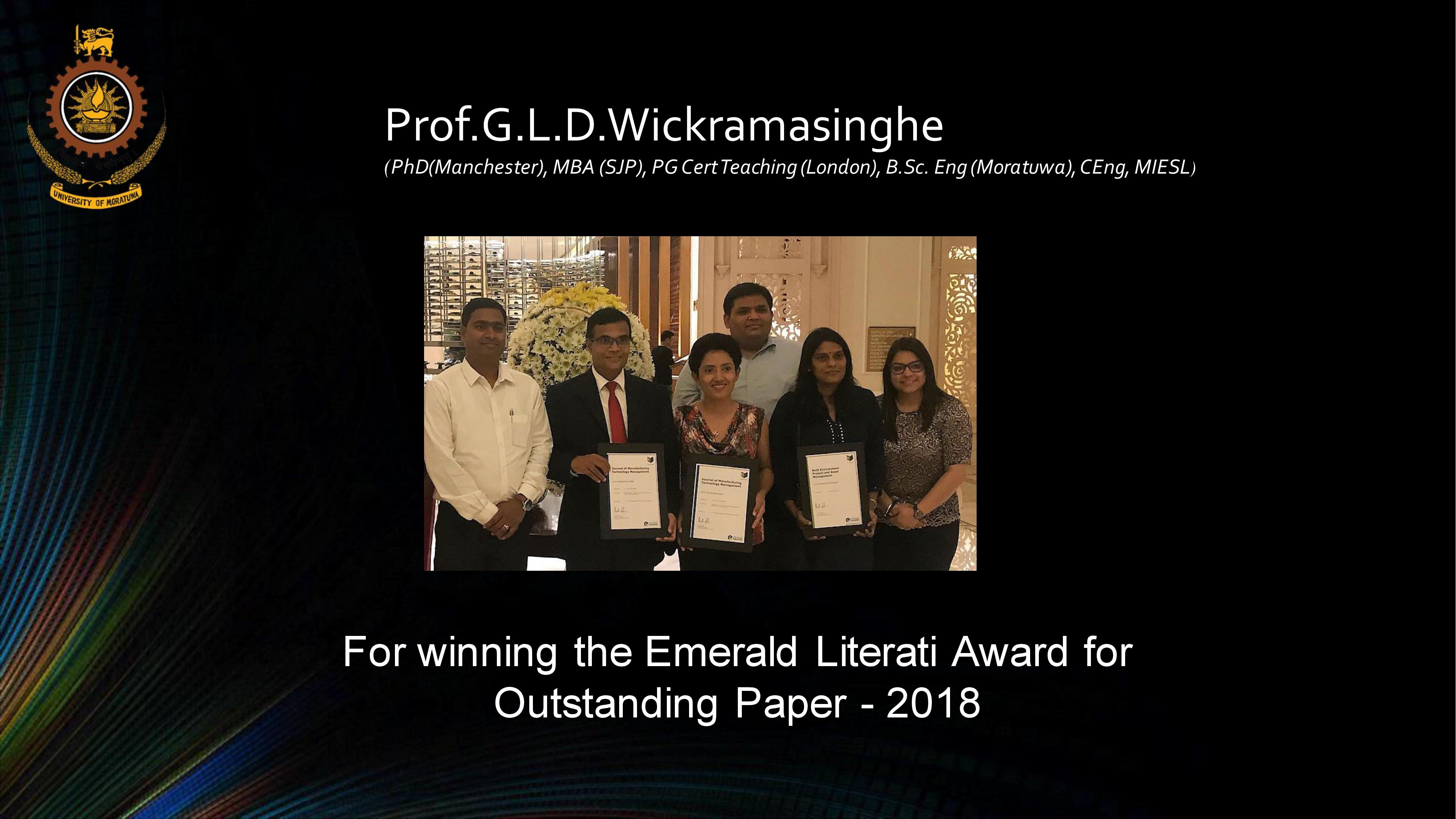 Winner of Emerald Literati Award for Outstanding Paper 2018
