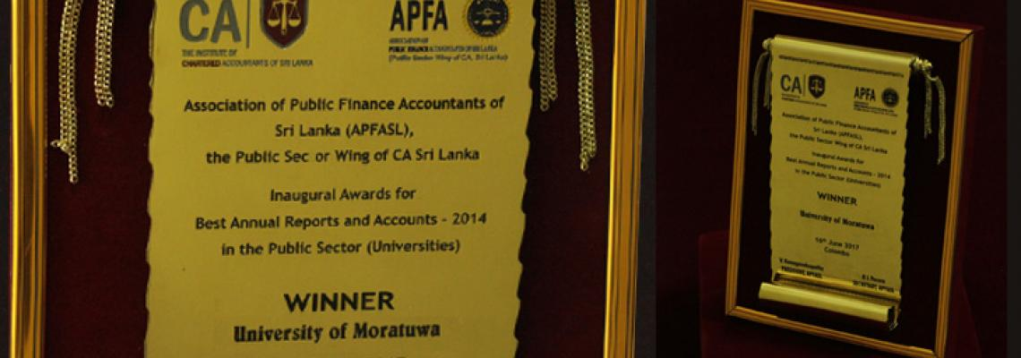 Award_ best annual reports and accounts 2014