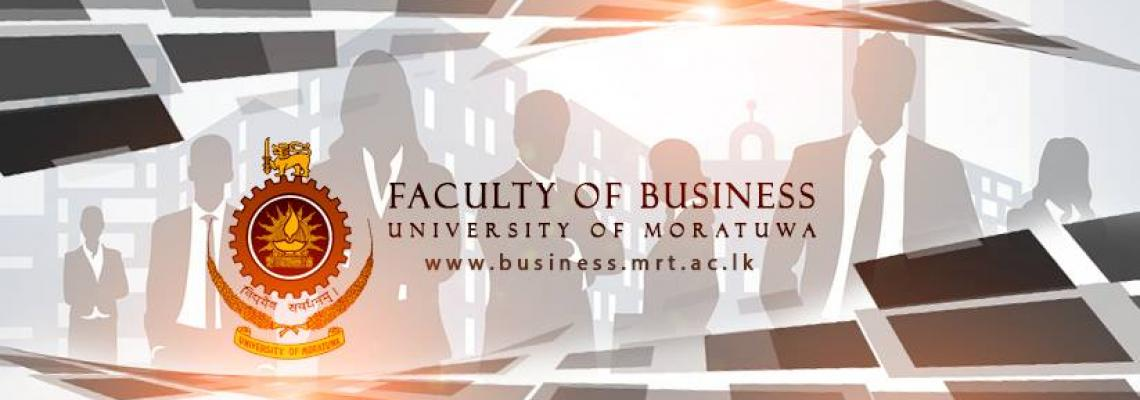University of Moratuwa Business Faculty