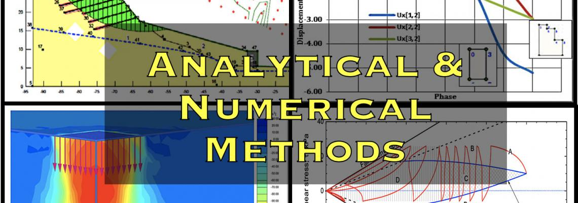 Analytical and Numerical Methods