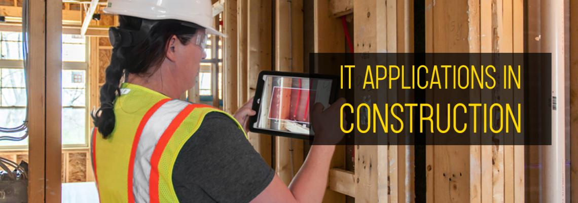 IT Applications in Construction