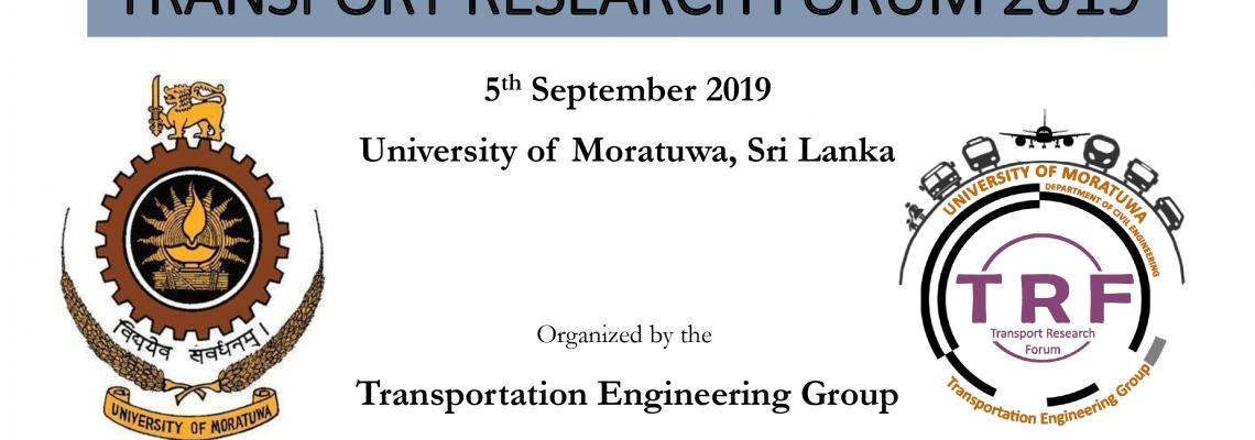 Transpotation Research Forum 2019