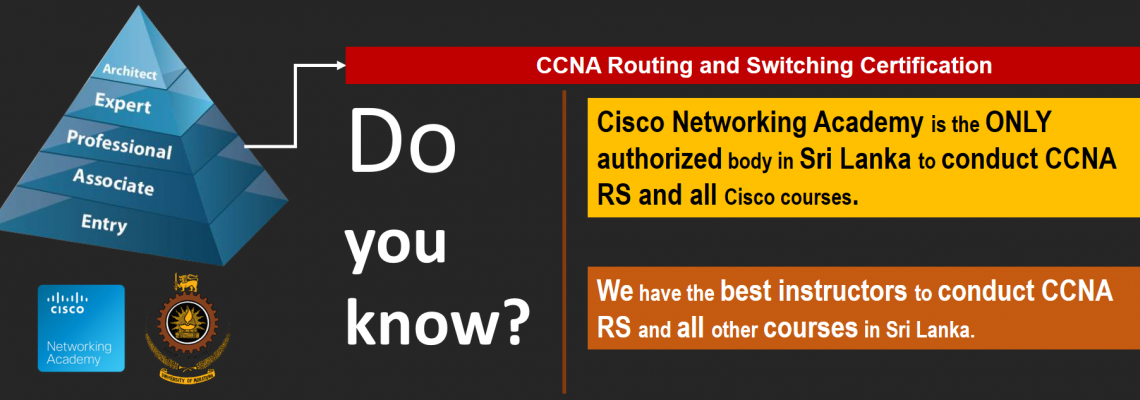 Best place to study CCNA Routing & Switching in Sri Lanka