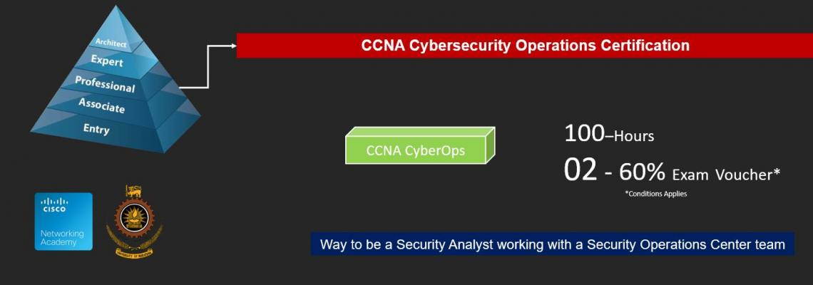 Best Place to study CCNA CyberOps in Sri Lanka - University of Moratuwa