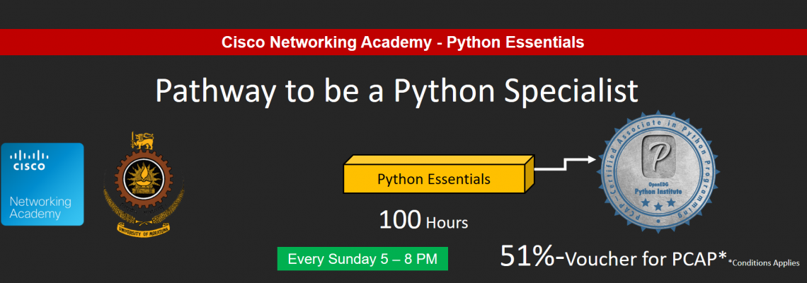 Pathway to be a Python Specialist