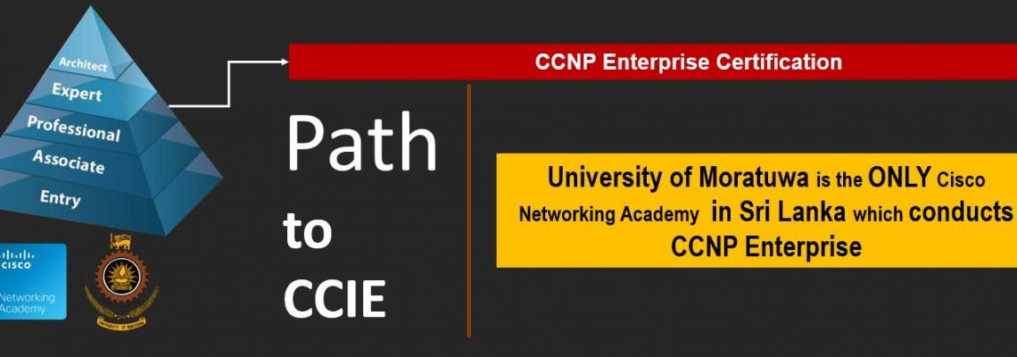 The ONLY place to study CCNP Enterprise in Sri Lanka
