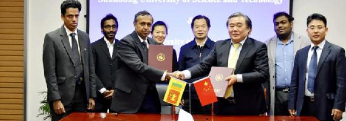 MOU Signing with Shandong University
