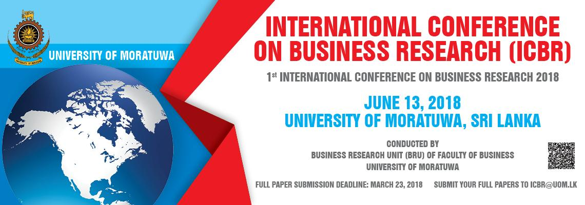 International Conference on Business Research