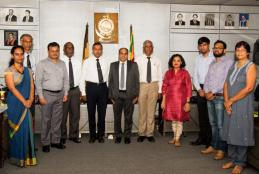 VISIT OF INDIAN DELEGATION TO PROMOTE COLLABORATION WITH EDUCATIONAL INSTITUTIONS IN INDIA