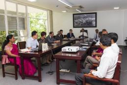 Visit of delegation from National Sun Yat-sen University, Taiwan