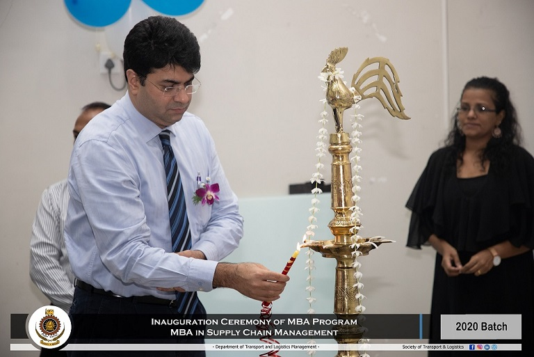 Inauguration Ceremony of MBA in SUPPLY CHAIN MANAGEMENT 2020 Intake