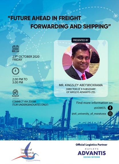 A discussion on the future ahead in freight forwarding and shipping
